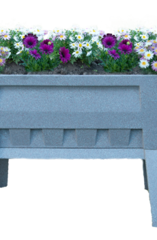 Garden Easi Planter Box in Stone Marble