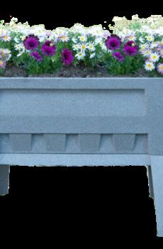 Garden Easi Planter Box in Stone Marble