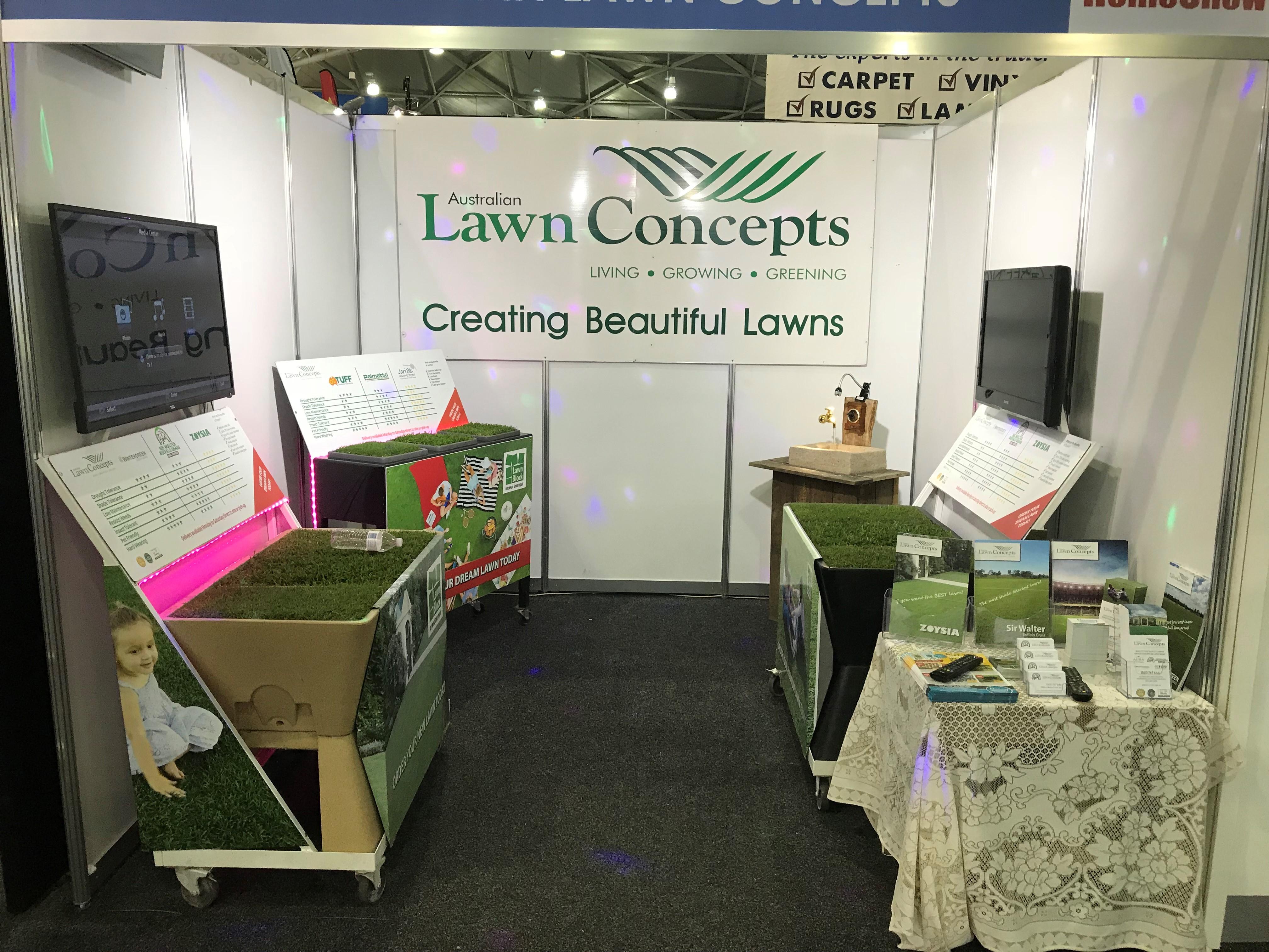 Brisbane Home show 2018 Australian Lawn Concepts 2