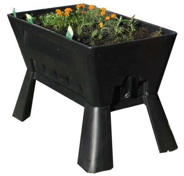 Garden Easi Planter Box in Black e2