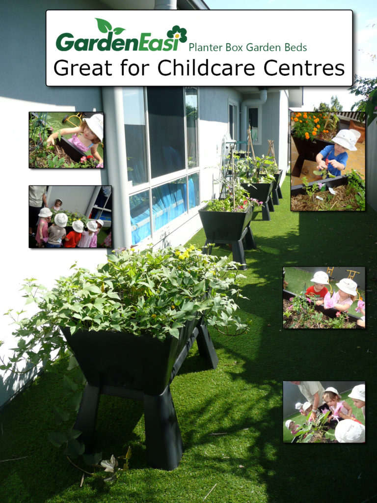 Garden Easi Planter Box and Garden Beds great for Childcare Centres
